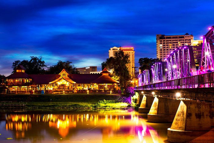 What To Do In Chiang Mai In 3 Days [the best ideas] Chiang Mai Iron Bridge